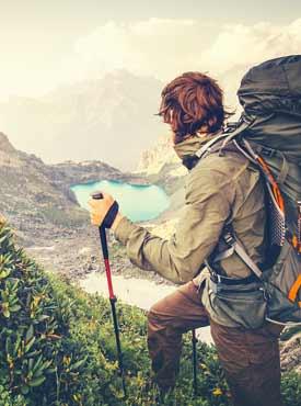 adventure hiking