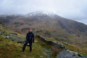 Climbing Snowdon Mountain