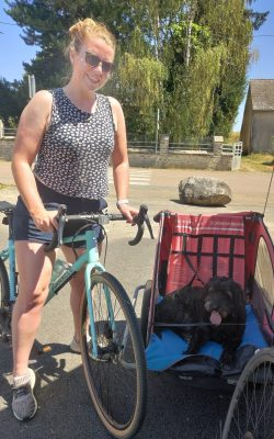bike dog france