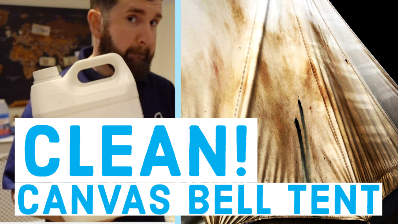 how-to-clean-canvas-bell-tent